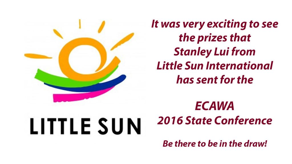 The prizes from Little Sun are here!