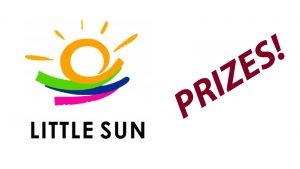 Little Sun International Prizes!! Be at the draw to enter!