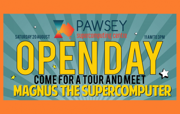 The Pawsey Supercomputing Centre Open Day