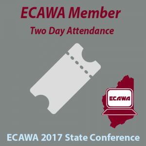 ECAWA 2017 State Conference Member Two Day Attendance Ticket