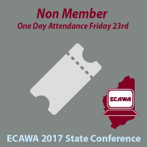 2017 Non Member Friday One Day Attendance