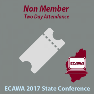 2017 Non Member Two Day Attendance