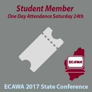 2017 Student Member Saturday One Day Saturday Attendance
