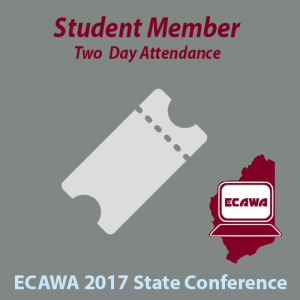 2017 Student Member Two Day Attendance