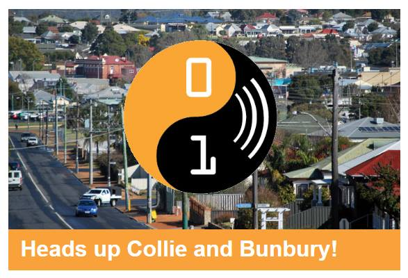 Heads Up Collie and Bunbury!