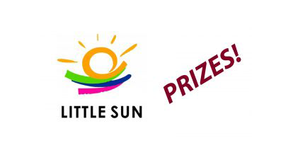Prizes from Little Sun!