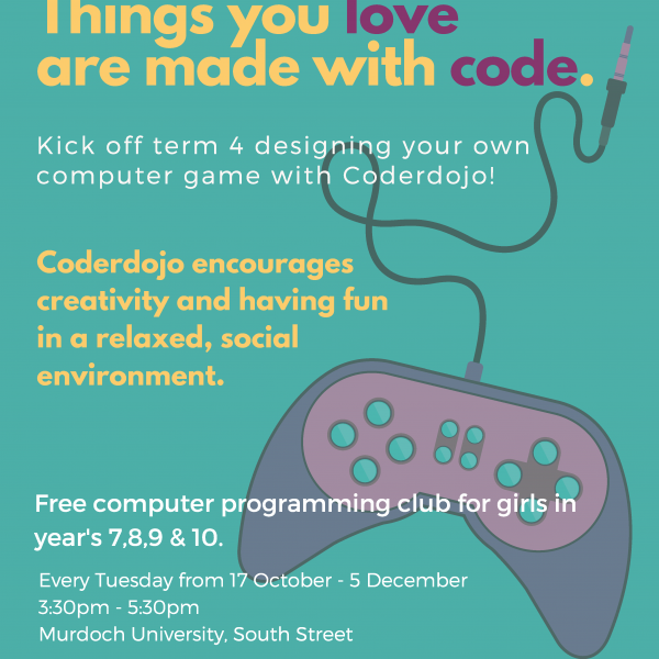 Things you love are made with code - poster