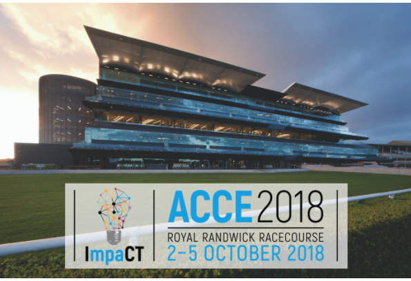 ACCE2018 held at the Royal Randwick Racecourse on 2 October to 5 October 2018