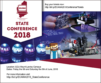 ECAWA 2018 State Conference June 8th and 9th with border