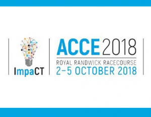 ACCE 2018 in Sydney Register now at http://acce2018.com.au/