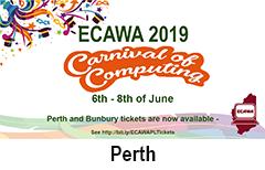 ECAWA 2019 A Carnival of Computing - in Perth!
