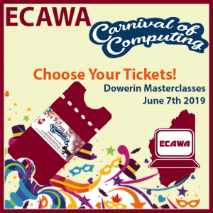 ECAWA 2019 Carnival of Computing - in Dowerin - Choose Your Tickets!