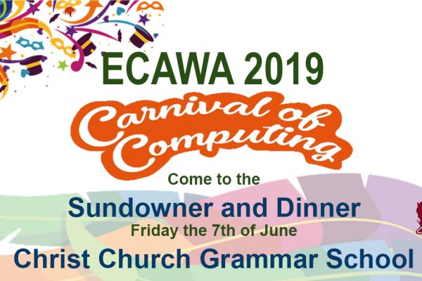 ECAWA 2019 Carnival of Computing Sundowner and Dinner
