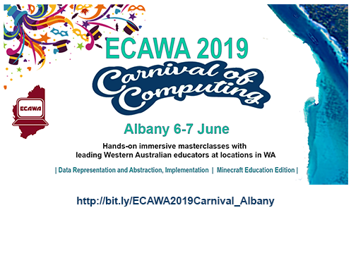 ECAWA 2019 Carnival of Computing - in Albany!