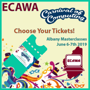ECAWA 2019 Carnival of Computing Albany - Choose Your Tickets!