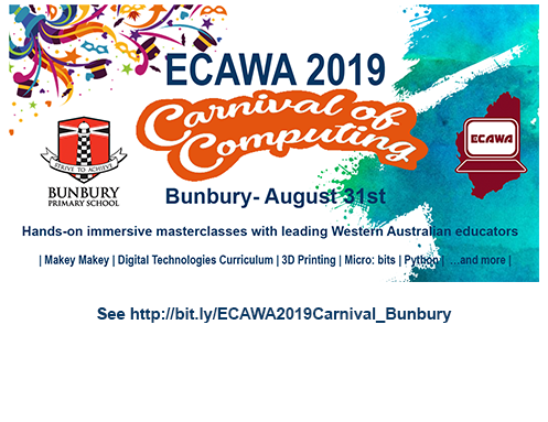 ECAWA 2019 – A Carnival of Computing in Bunbury! – ECAWeb