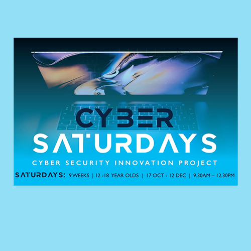 Cyber Saturdays for students aged 12 to 18