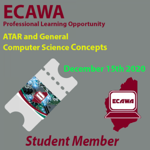 ECAWA Student Member Ticker to PL on the 15th of December 2020