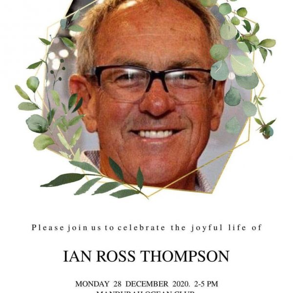 Ian Thompson - Memorial Service