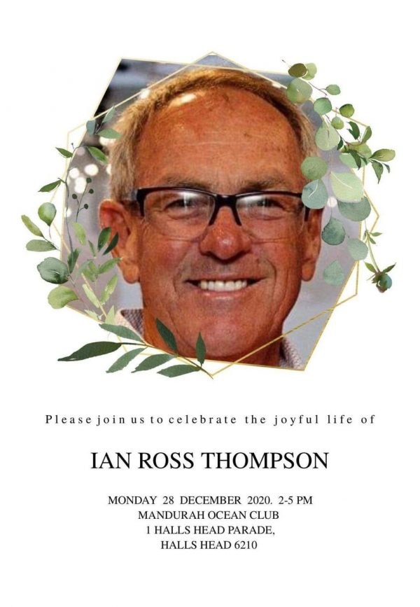 Ian Thompson - Memorial Service