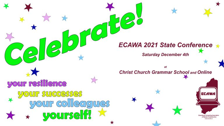 ECAWA 2021 State Conference - Saturday the 4th of December at Christ Church Grammar School